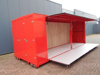 marktkraam, pop up container,